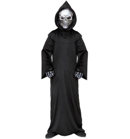 Skelet døden børnekostume - Døden kostume til børn