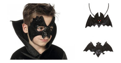 flagermus kostume til børn, flagermus udklædning til børn, flagermus børnekostume, flagermus kostumer, halloween kostumer, sorte kostumer, kostume universet