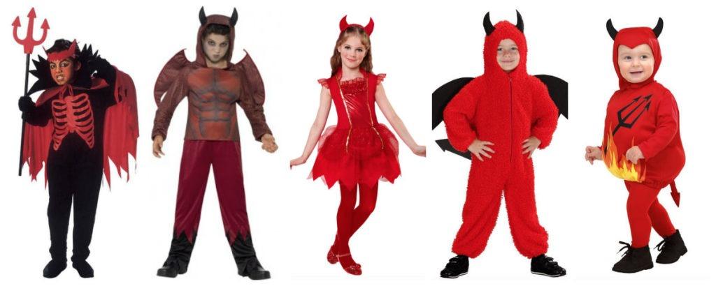 collage 31 1024x410 - Djævel kostume til børn og baby