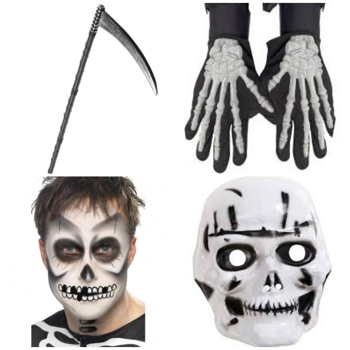 døden kostume til børn tilbehør døden børnekostume