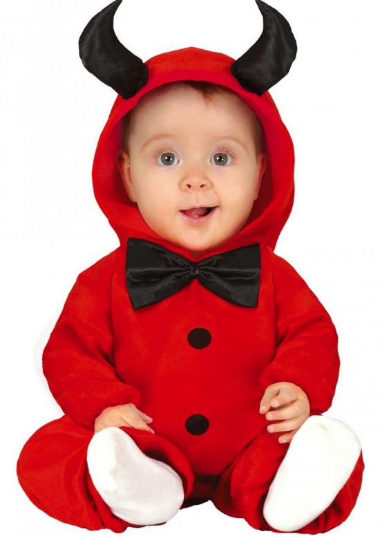 djævel baby kostume - Halloween kostume til baby