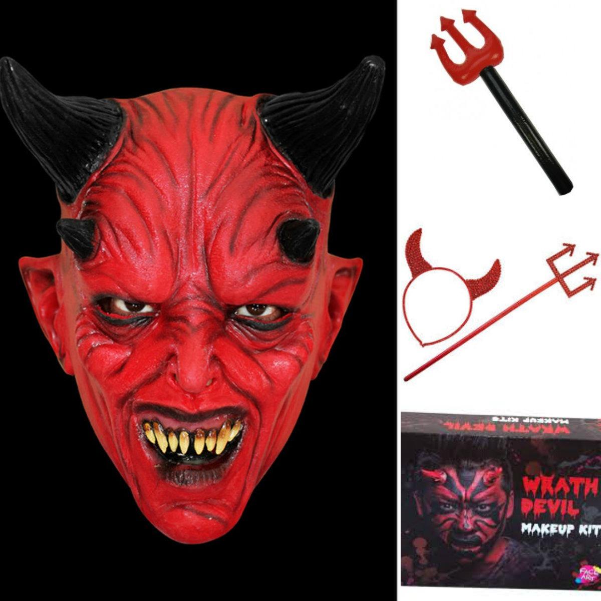 djævel kostume til børn djævlekostume børn djævel udklædning baby halloween udklædning inspiration halloween nem udklædning