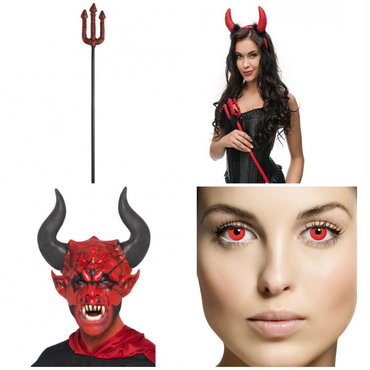 djævel kostume til voksne djæveludklædning halloween djævelkostume til kvinder