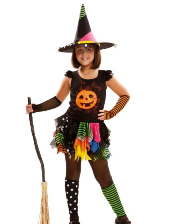 græskar heksekostume til piger ikke farligt kostume til børn
