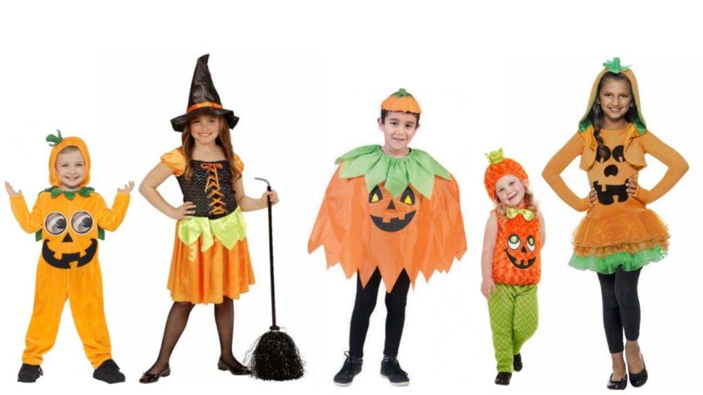 græskar kostume til børn græskar halloween kostume til børn ikke uhyggeligt halloween kostume til børn halloween græskar børnekosutme