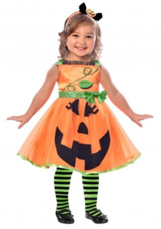 græskar kostume til baby halloween kostume til baby halloween kostume til 1 årig halloween kostume til 2 årig halloween kostume 1 år græskar kjole