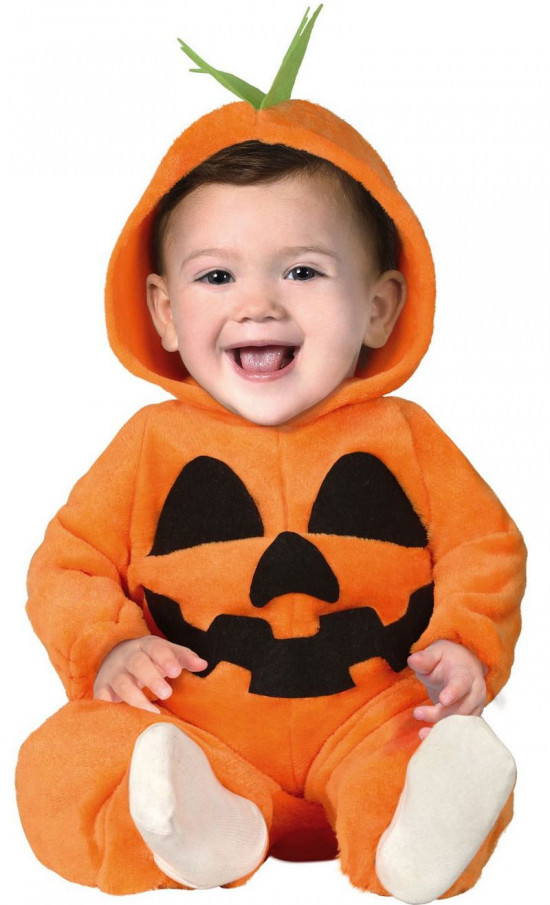græskar kostume til baby - Halloween kostume til baby
