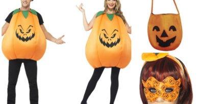 græskar kostume til voksne, græskar udklædning til voksne, græskar voksenkostume, orange kostumer, halloweeen kostumer til voksne, sjove halloween kostumer til voksne, halloween voksenkostume