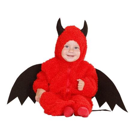 lille djævel kostume til baby baby djævlekostume baby halloween kostume