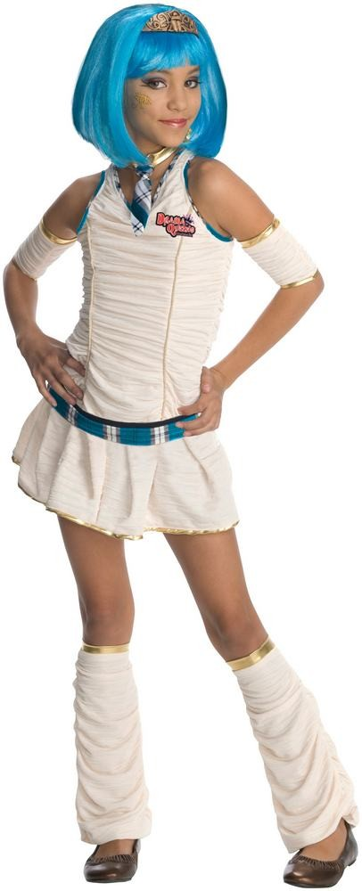 mumie kostume til børn mumiekostume til børn halloween udklædning mumie sød pige mumie