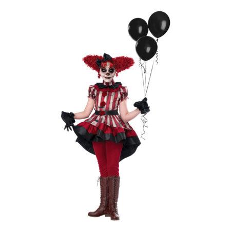 ond klovn børnekostume 450x450 - Uhyggeligt klovne kostume til børn