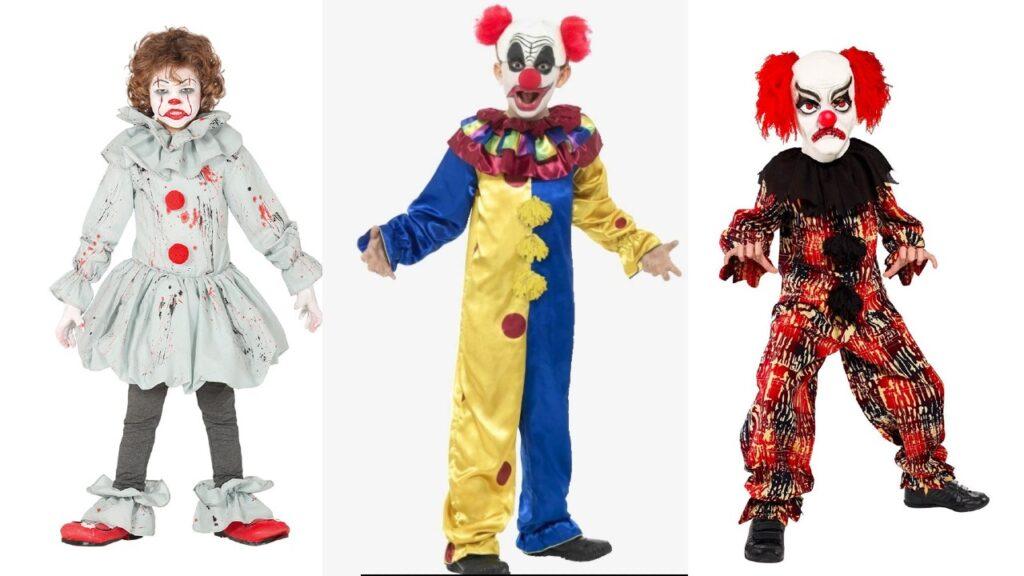 ond klovn kostume barn halloween kostume til barn