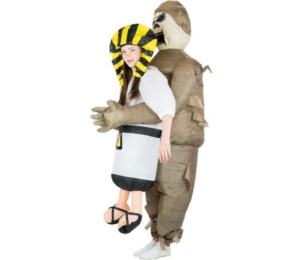 oppustlige mumie børnekostume - Mumie kostume til børn