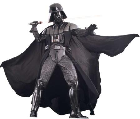 super luksus darth vader kostume til samler star wars deluxe kostume