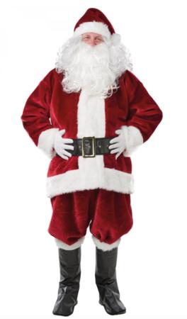 Luksus julemand kostume 264x450 - Julemandskostume til voksne