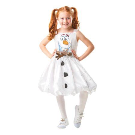 Olaf kjole børnekostume 450x450 - Snemand kostume til børn