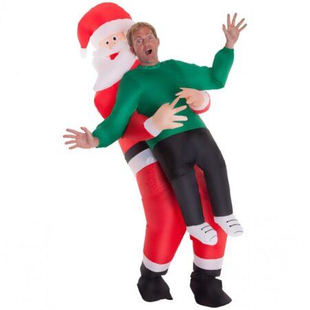 Oppustelig julemand kotume 450x450 - Julemandskostume til voksne