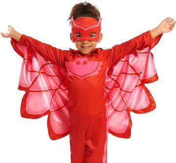 PJ Masks Pyjamasheltene kostume til børn PJ Masks Pyjamasheltene udklædning PJ Masks Pyjamasheltene fastelavnskostume PJ Masks Pyjamasheltene Ugline Uglette kostume