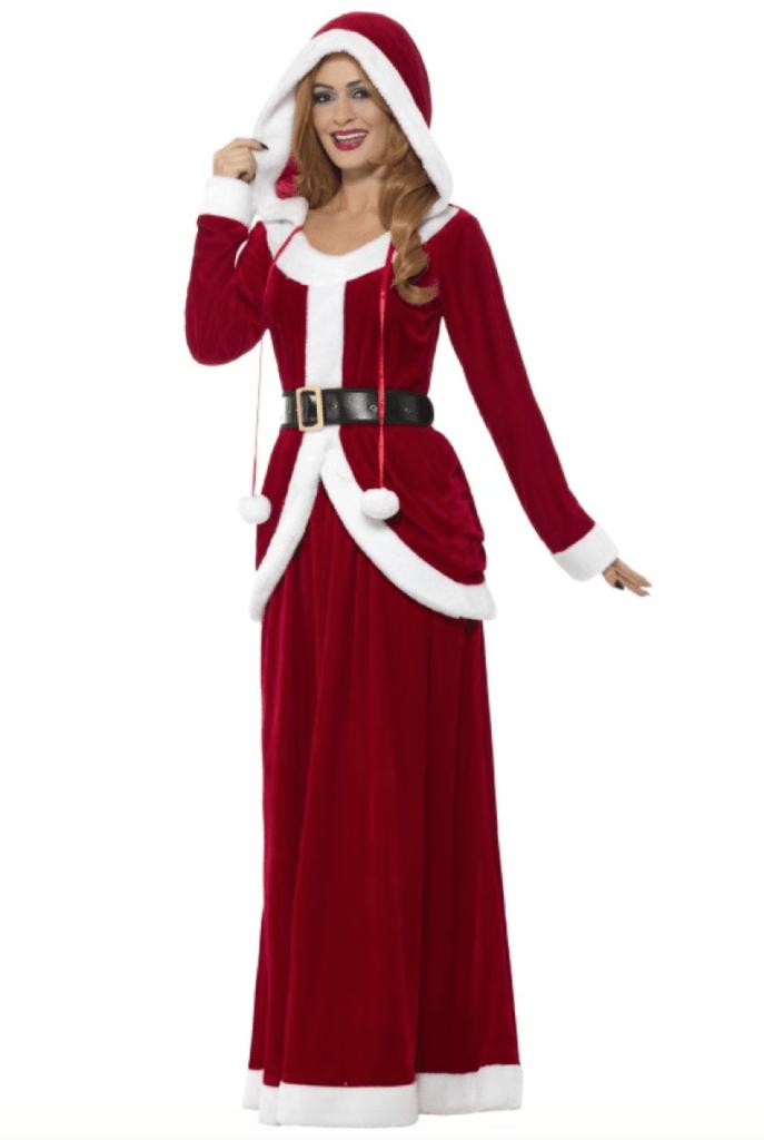 Skærmbillede 2017 10 16 kl. 13.36.04 687x1024 - Julemands kone kostume til voksne