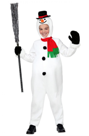 Snemand børnekostume 1 295x450 - Snemand kostume til børn