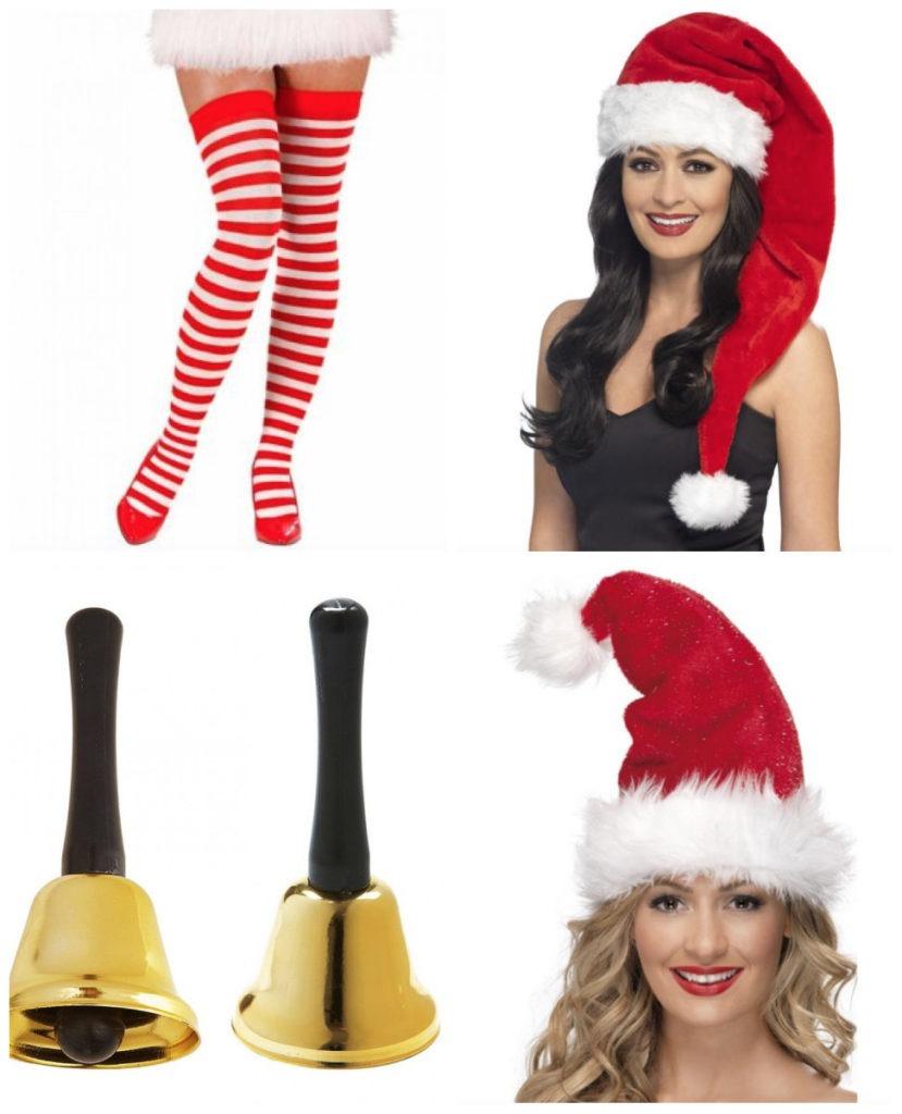 collage 11 829x1024 - Julemands kone kostume til voksne