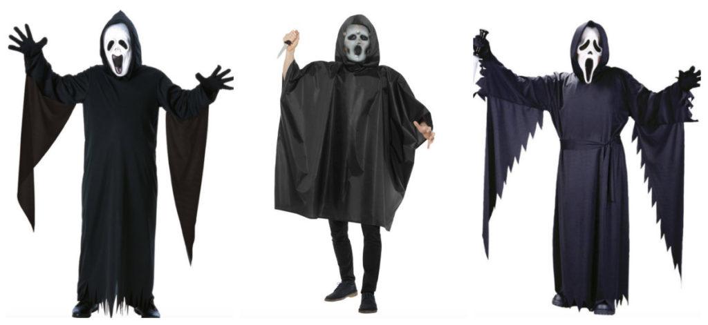 collage 24 1024x471 - Scream kostume til børn og voksne
