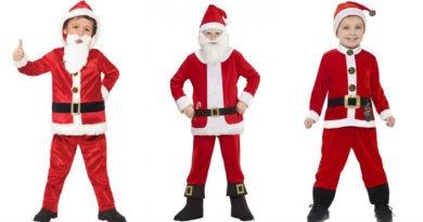julemands kostume til børn, julemand kostume til børn, julemand børnekostume, julemand udklædning til børn, julemand kostumer