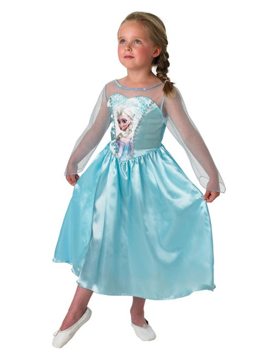 elsa kostume til børn frost kostume frost udklædning elsa kostume