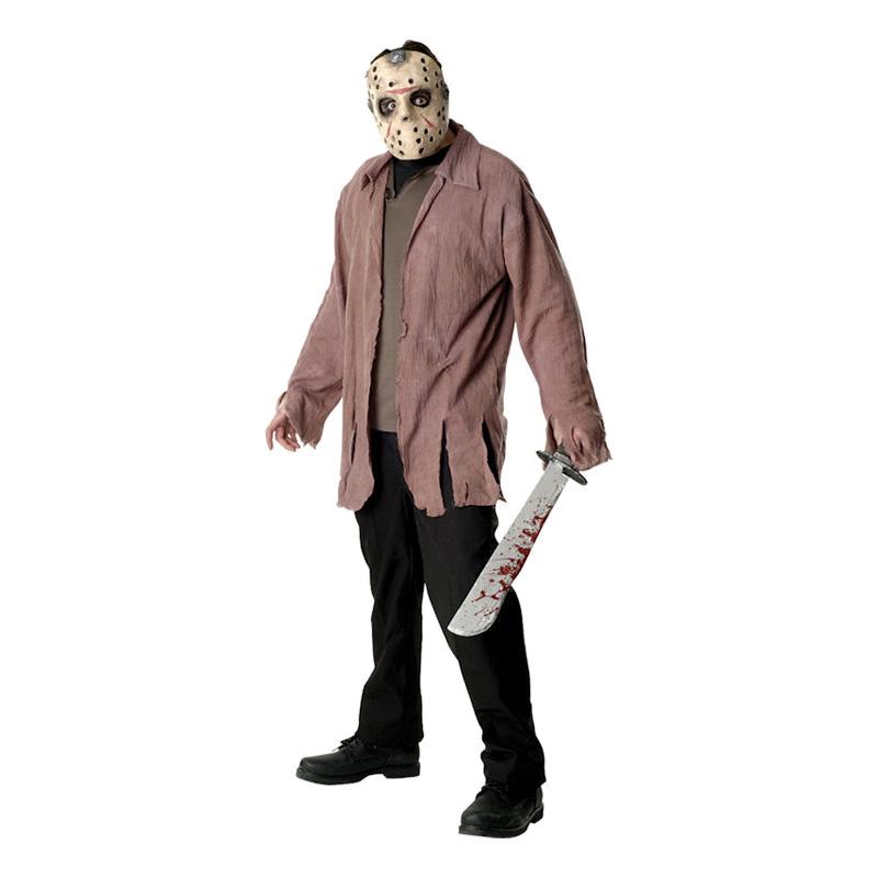 jason kostume til voksne - Gyserfilm kostume til voksne