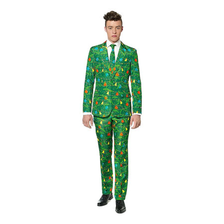 jule jakkesæt til voksne 450x450 - Juletræ kostume til voksne