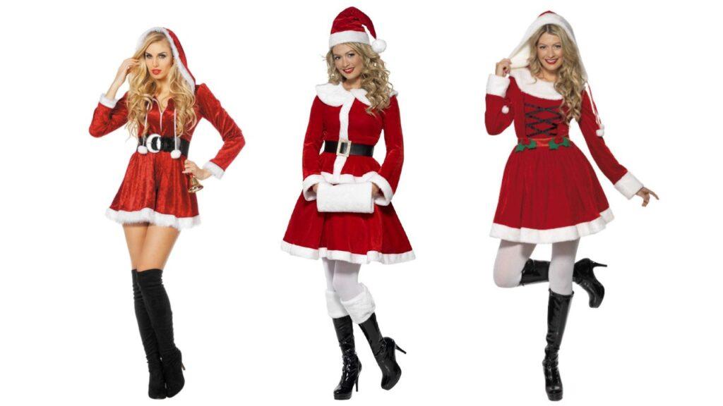 julefrokos kostume kvinder nisse udklædning kvinder julekostume til voksne