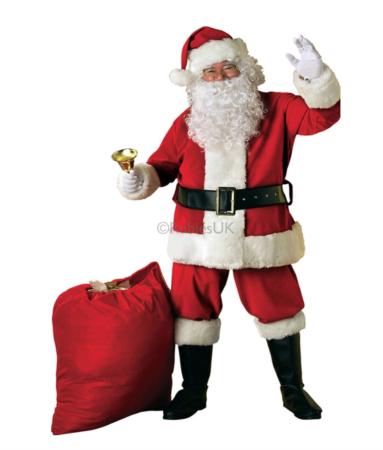 julemand kostume til voksne 383x450 - Julemandskostume til voksne
