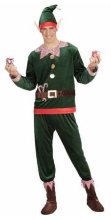 julemandens hjælper ale udklædning julekostume til mand