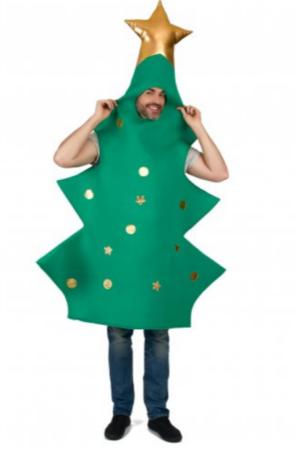 juletræ kostume til voksne 3d kostume til voksne