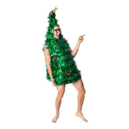 juletræ kostume til voksne juletræ udklædning sjovt julekostume til voksne