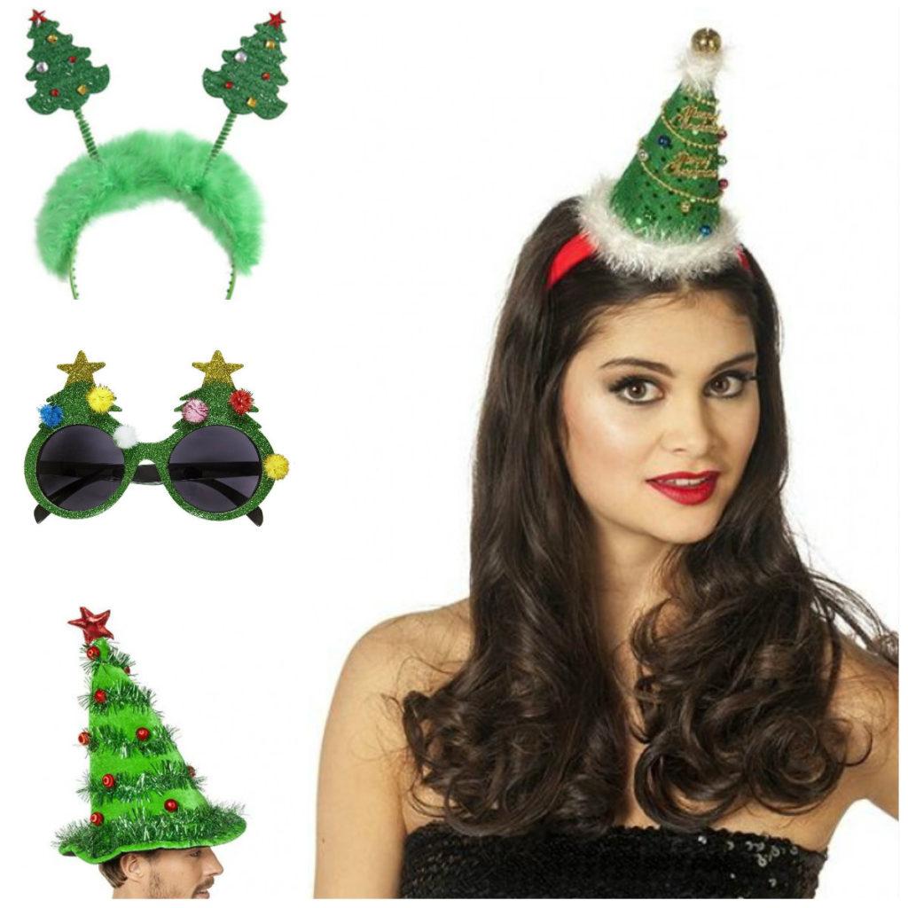 juletræ kostume til voksne tilbehør