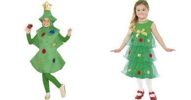 juletræskostume til børn juletræ kostume til børn julekostume til børn juletræ kostume til piger juletræ udklædning børn udklædning til julefoto juletræskostumer