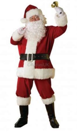 klassisk julemand kostume til voksne