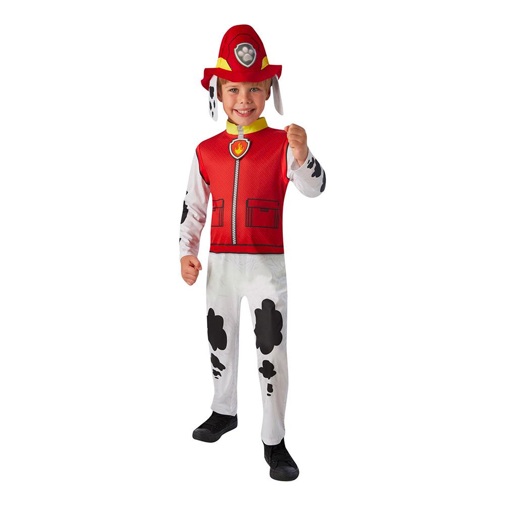 paw patrol marschall paw patrol mashall kostume til børn børnekostume paw patrol