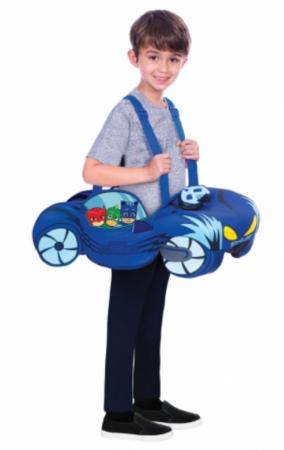 pyjamasheltene kattedrengen kostume til børn PJ masks børnekostume blå