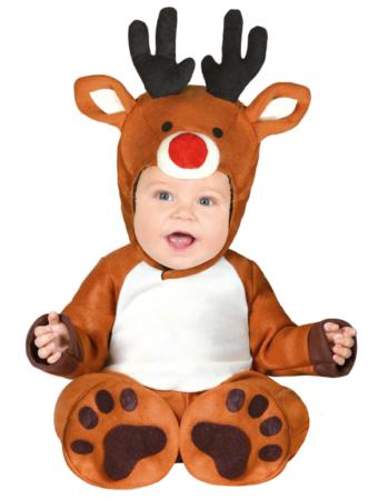 rensdyr kostume til baby rudolf babykostume 6 mdr julekostume til baby 1 år