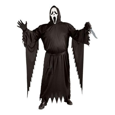 scream kostume plus size halloween 450x450 - Scream kostume til børn og voksne