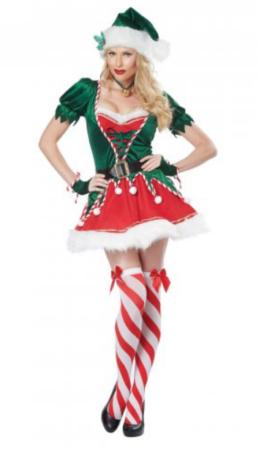 sexet julenisse kostume til voksne