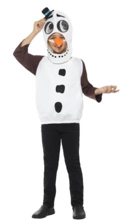 snemand fastelavnskostume 255x450 - Snemand kostume til børn