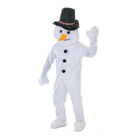 snemand kostume til voksne snemand maskot kostume voksne