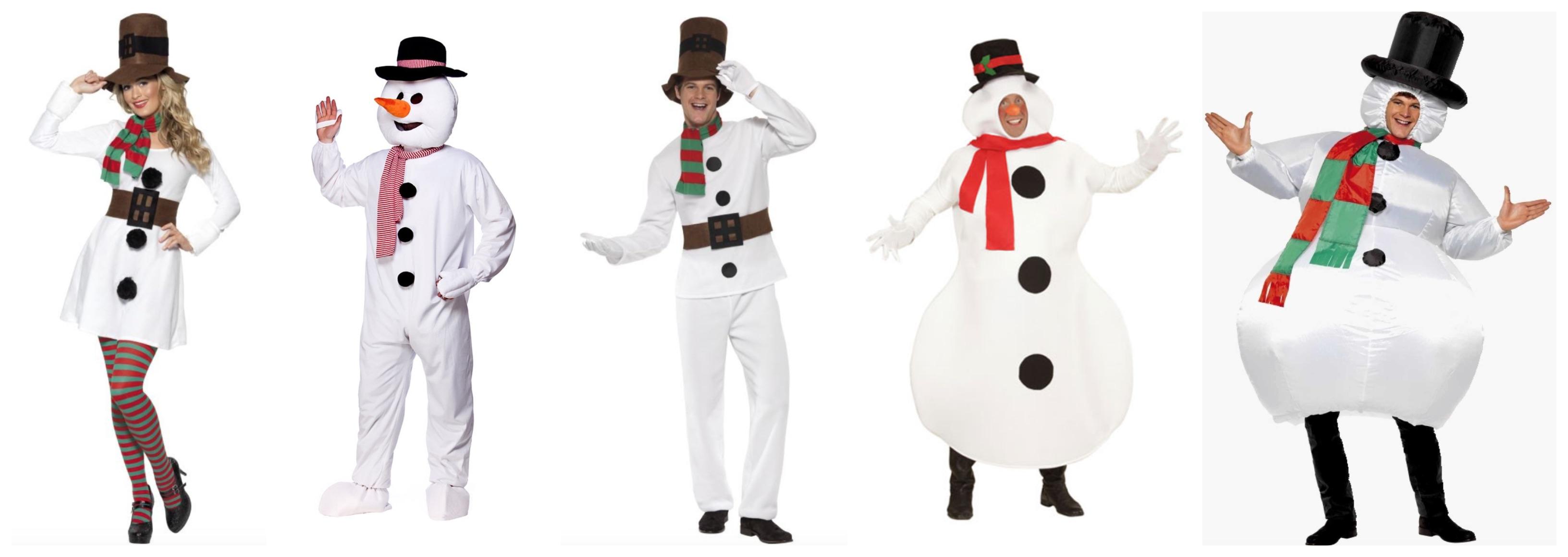 snemand kostume til voksne - Snemand kostume til voksne