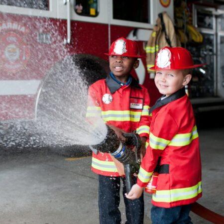 Great Pretenders brandmand børnekostume 450x450 - Brandmand kostume til børn