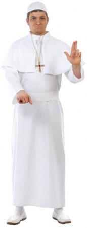 Pave kostume hvide kostumer til voksne 172x450 - Præst kostume til voksne