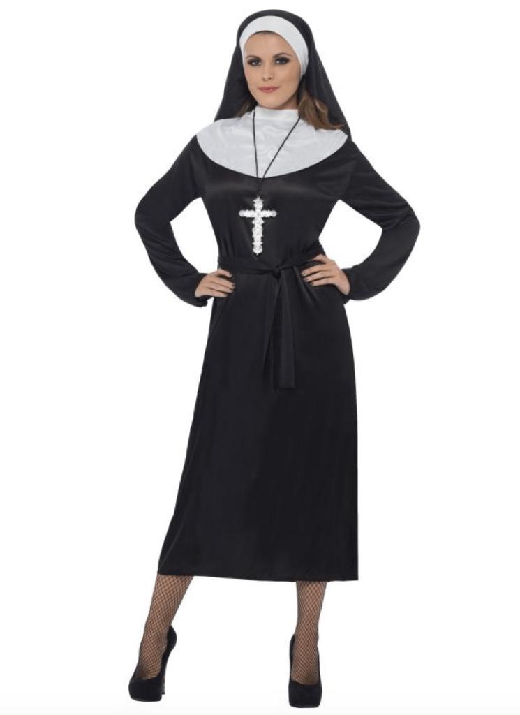 Skærmbillede 2017 11 20 kl. 08.19.34 745x1024 - Nonne kostume til voksne