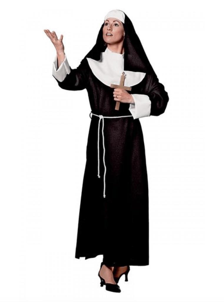 Skærmbillede 2017 11 20 kl. 08.26.35 761x1024 - Nonne kostume til voksne